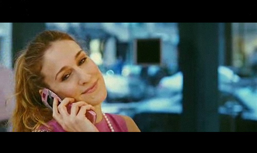 Carrie and Her Pink Phone