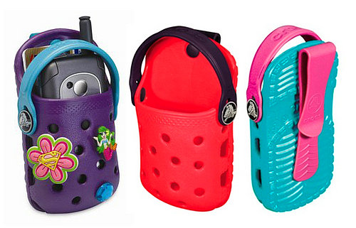 Colorful Crocs Made For Cell Phones