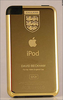 Daily Tech: Becks Gets the Gift of a Golden iPod