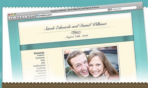 Create Your Own Wedding Website!