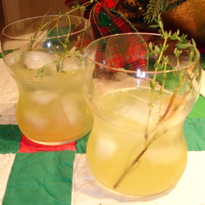 Winterthyme Cocktail