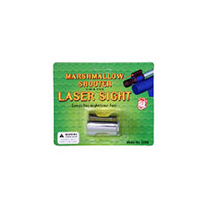 Marshmallow Shooter Laser Sight