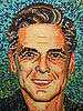 George Clooney's Face Re-created Using 10,000 Jelly Beans