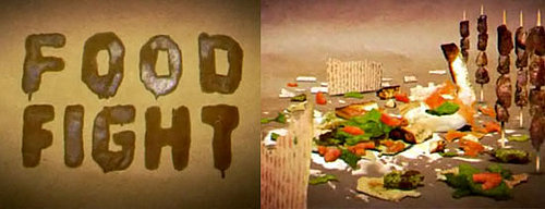Stefan Nadelman's Food Fight Film Depicts War Using Food