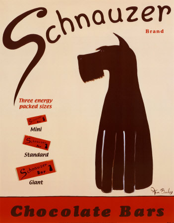 Schnauzer Chocolate Bars