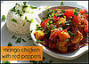 Yummy Link: Mango Chicken with Red Peppers