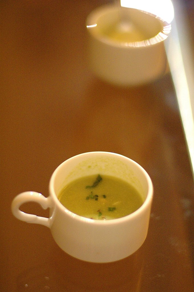 Keiko Takahashi's crab and avocado soup