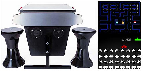 Eighties Arcade Table: Totally Geeky or Geek Chic?
