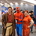 Capt. Mal and Kaylee of <b>Firefly</b>, and Spidey