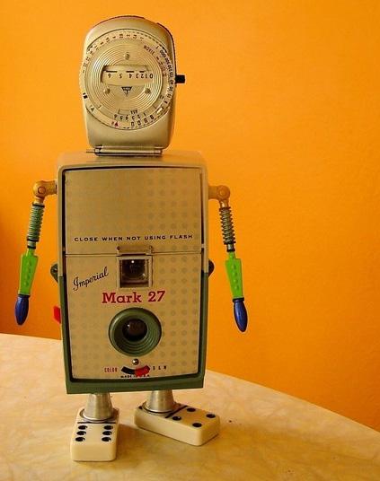 Rufus Robot Art