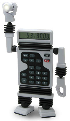 Robot Calculator