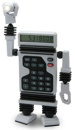 Robot Calculator