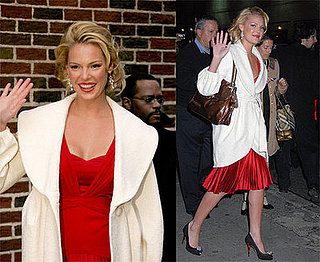 Katherine Heigl on David Letterman