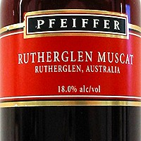 Happy Hour: Pfeiffer Rutherglen Muscat