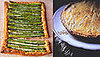 Asparagus Tart Two Ways — Beginner and Expert