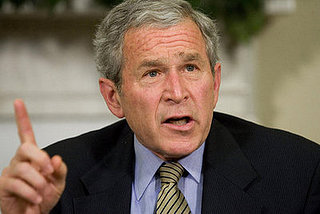 President Bush Gives News Conference