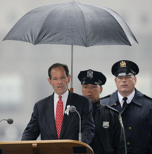 Headline: New York Gov. Eliot Spitzer Admits Prostitution Ties