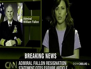 Headline: Admiral Fallon Resigns as CENTCOM Commader
