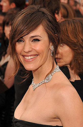 Jennifer Garner at the Oscars: hair and makeup