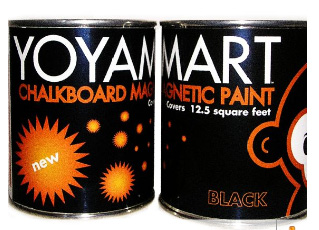 Pimp Your Crib: Chalkboard-Magnetic Paint