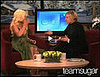 Wee TV: Ellen Asks Christina Aguilera an Obvious Question