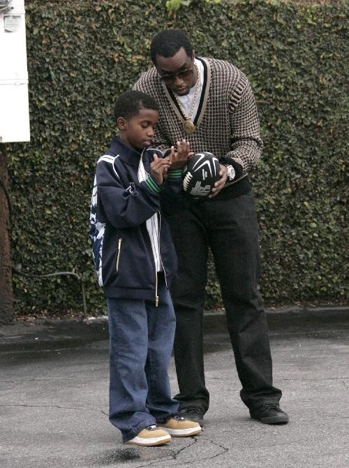 Mini Me: Diddy and Christian Combs