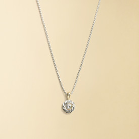 David Yurman Diamond Cookie Necklace ($285)