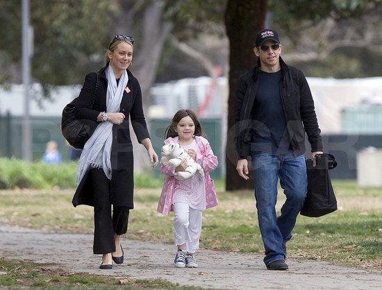 The Stiller Family Takes a Walk