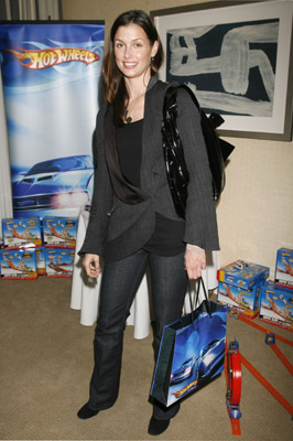 Bridget Moynahan Looks Sleek for Hot Wheels