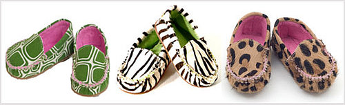 Animal Print Moccasins for Baby