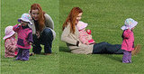 Marcia Cross and Girls