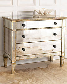 Mirrored Hall Chest?-? Chests?-? Neiman Marcus