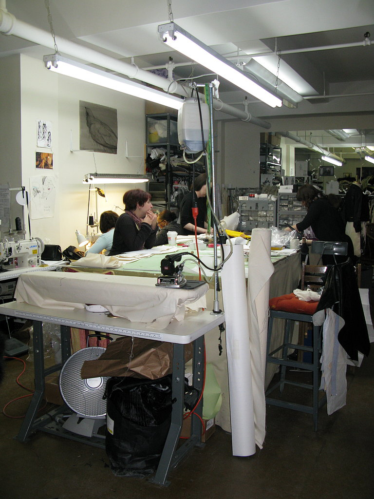 A Visit To Elise Overland's Studio Pre-Fashion Week A/W 2008
