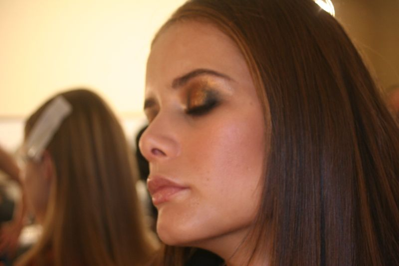Backstage At Oscar De La Renta Fall Winter 2008 Fashion Show