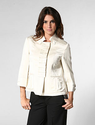 NANETTE LEPORE Carte Blanche Jacket in Alabaster at Revolve Clothing - Free Shipping!