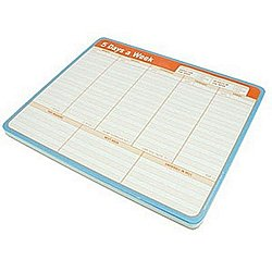 5 Days A Week Paper Mousepad, 60 Sheets, 12600, KnockKnock at X-Treme Geek.com