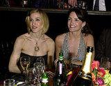 Sarah Jessica Parker and Kristin Davis, 2002
