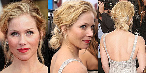 Christina Applegate Hair at the SAG Awards