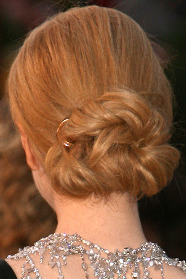 Oscars Hair: A Little From the Back