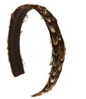 Jennifer Ouellette Medium Feather Headband