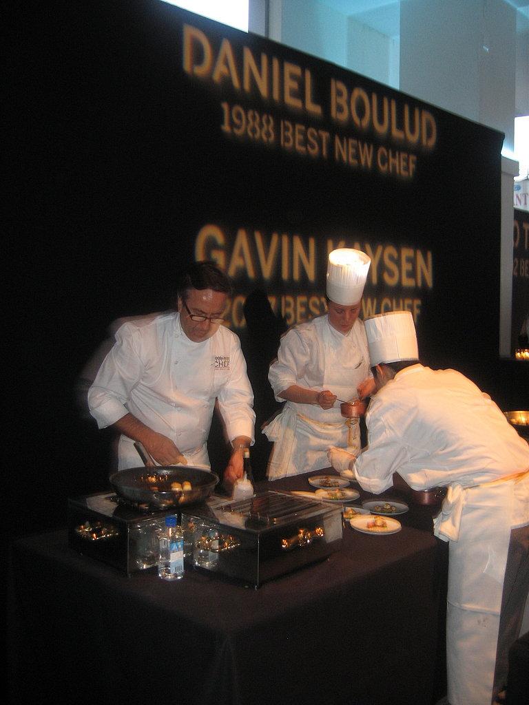 Daniel Boulud's Crayfish a L'Americaine