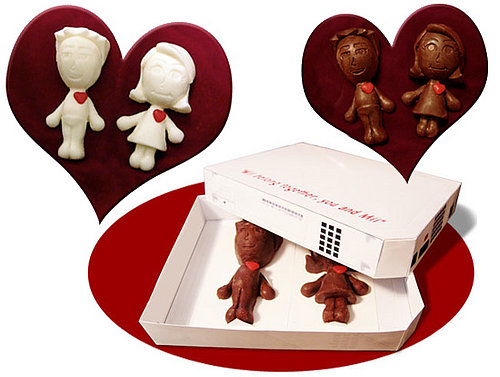 Wii Belong Together: Chocolate Miis For Valentine's Day