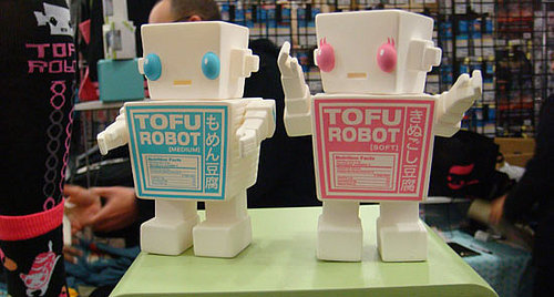 WonderCon 2008: Spicy Brown's Tofu Robot Goods