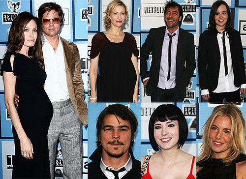 Stars Arrive For The Independent Spirit Awards