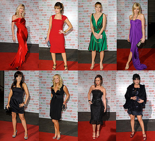 Stars on the Red Carpet at Children's Champions Awards 2008