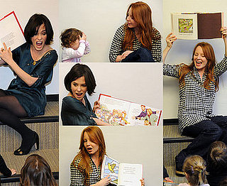 """The Return Of Jezebel James"" stars - Parker Posey And Lauren Ambrose - Host Storytime At A Library In NYC"