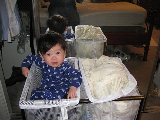 Jack on Laundry Day