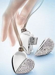 Swarovski Philips Heart Beat Flash Drive