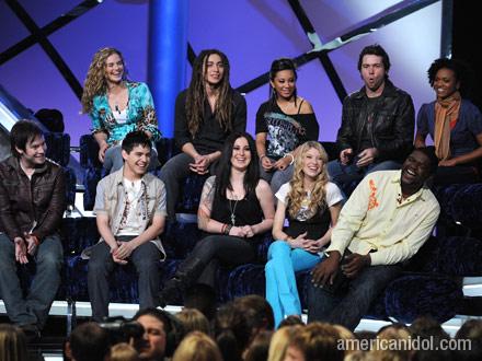 American Idol - The top 9