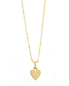 Jennifer Meyer Tiny Heart Necklace